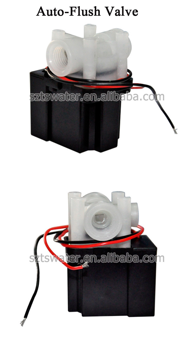Auto-Flush Electric Valve for RO Water System