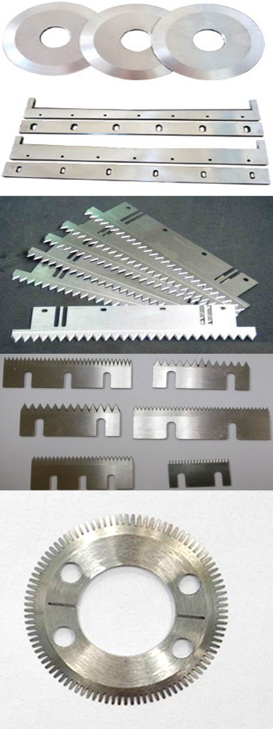 Bag Packing Machinery Blades for Cutting Carton