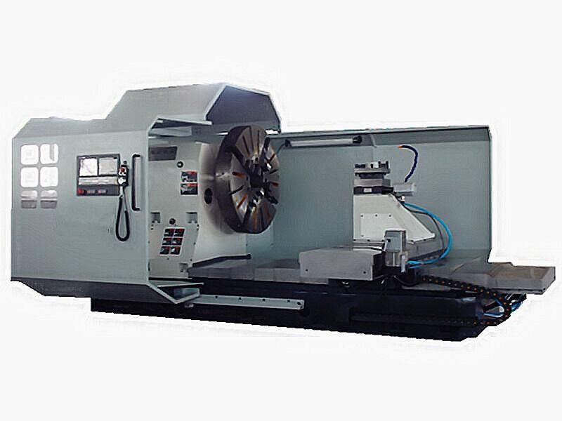 Special Designed CNC Lathe for Aluminum Engineering Wheel Repair (CK61160)