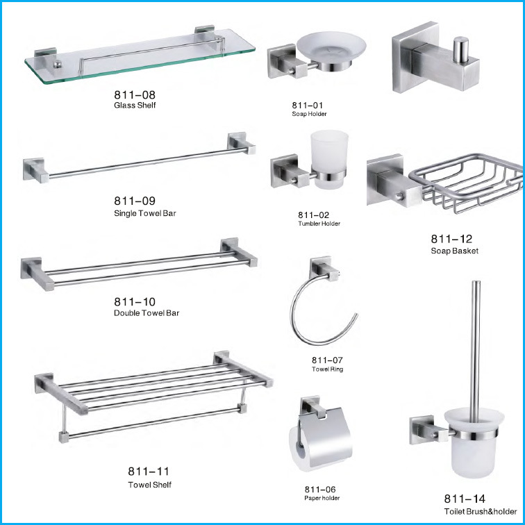 304 Stainless Steel Bathroom Accessories