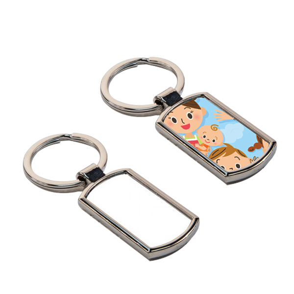 Sublimation Metal Blank Keychain for Promotional Gift