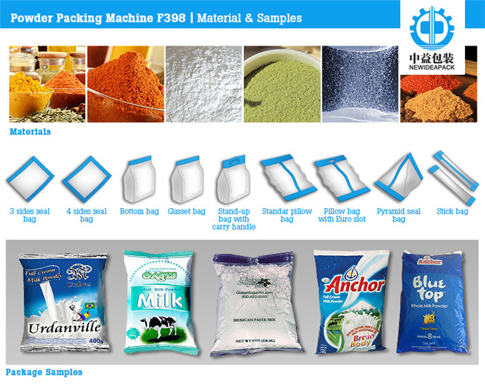 ND-F398 Lotus Root Starch Packaging Machine