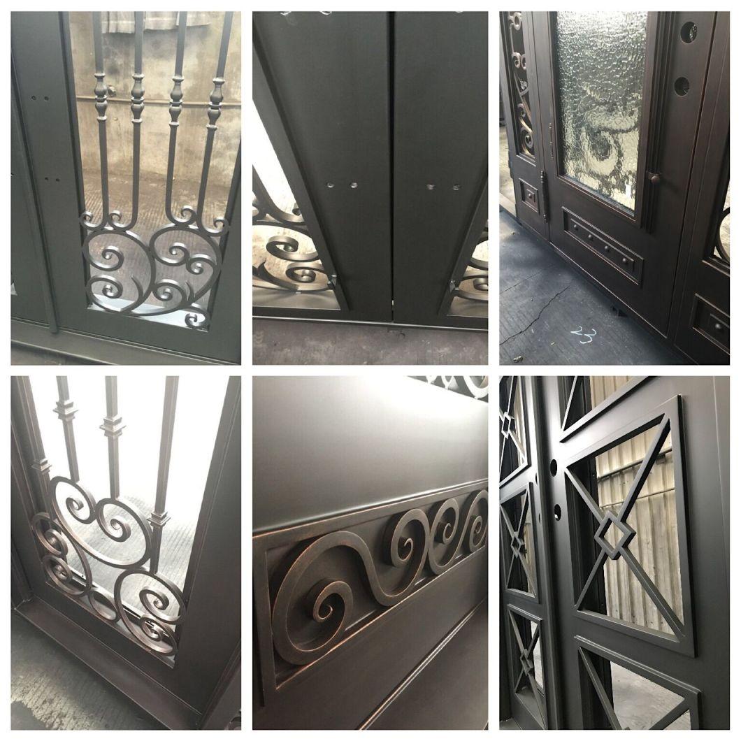 2019 Hot Sale Exterior Security Iron Door