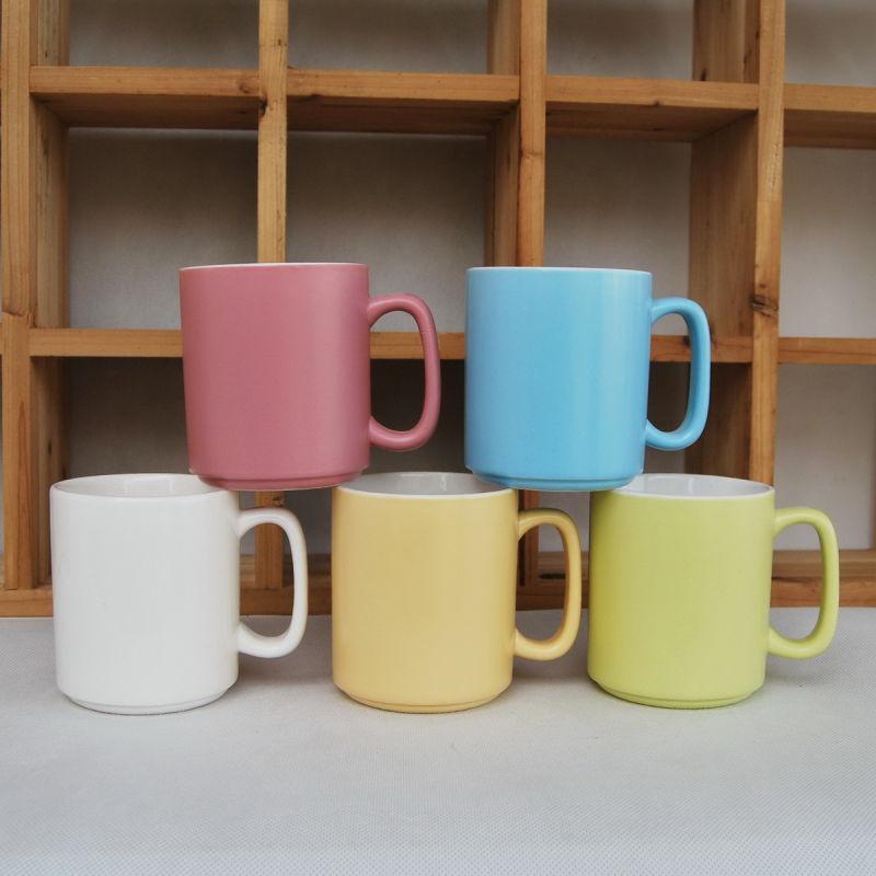 Matt Color Glazed Mug