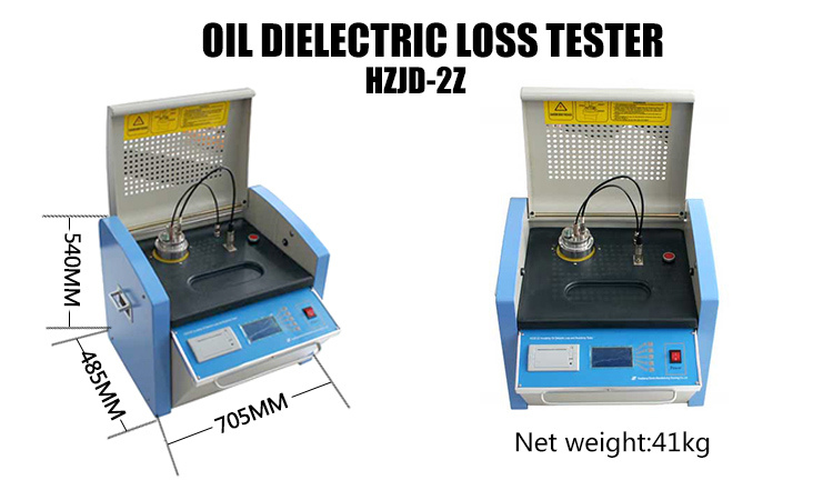 Laboratory Transformer Oil Analysis Tan Delta Test Dielectric Loss Testing Equipment