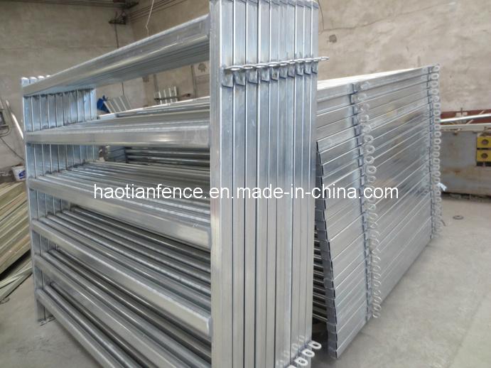 Galvanized Heavy Duty Horse / Cattle Steel Panel Gate