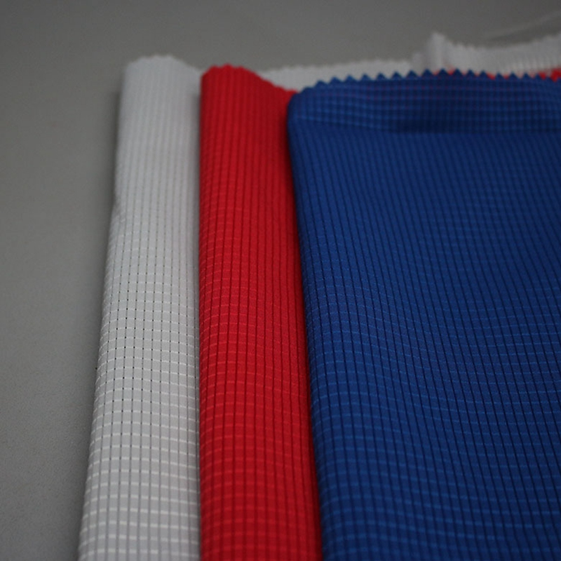 T400 Spandex Fabric with Burn out Hole for Fashion Jacket