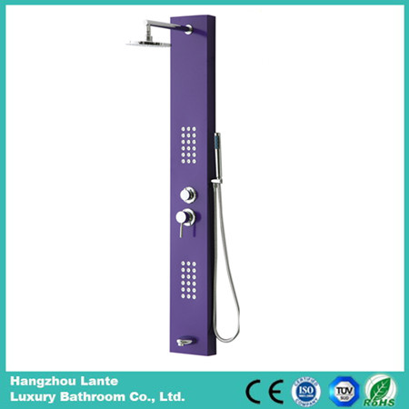 Newly Aluminium Alloy Shower Panel with Shower Head Faucet (LT-L662)