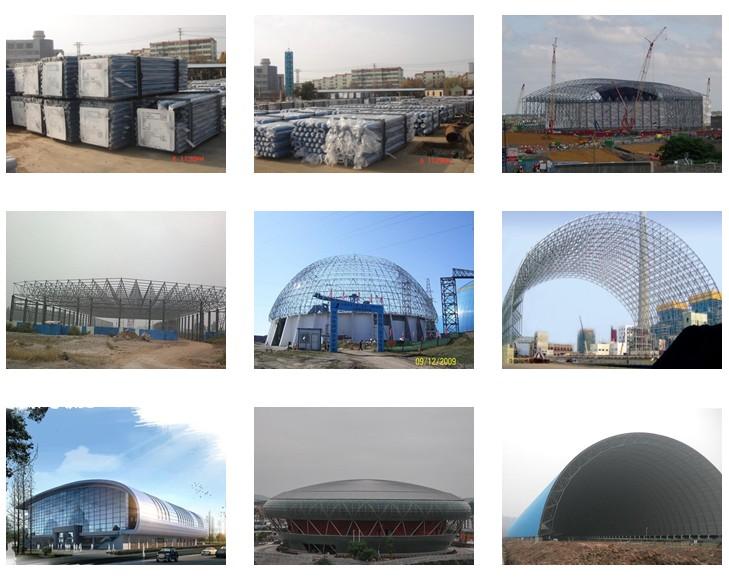 Aluminum Composite Panel for Steel Frame Stadium Building