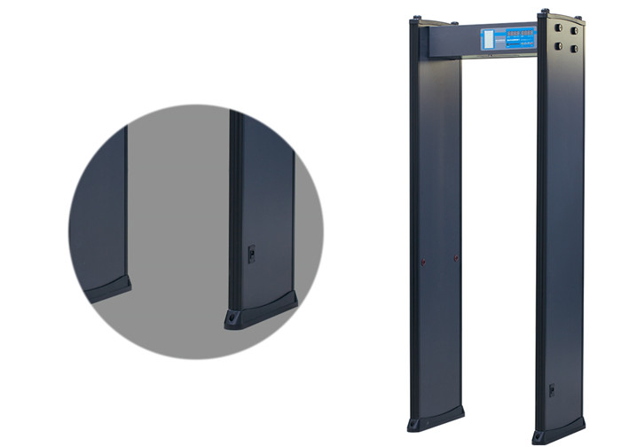 4 Zones Body Scanner Door Frame Metal Detector with Password Protection