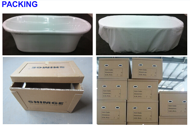Round Corner Whirlpool Massage Bath Tub (JL801L/R)