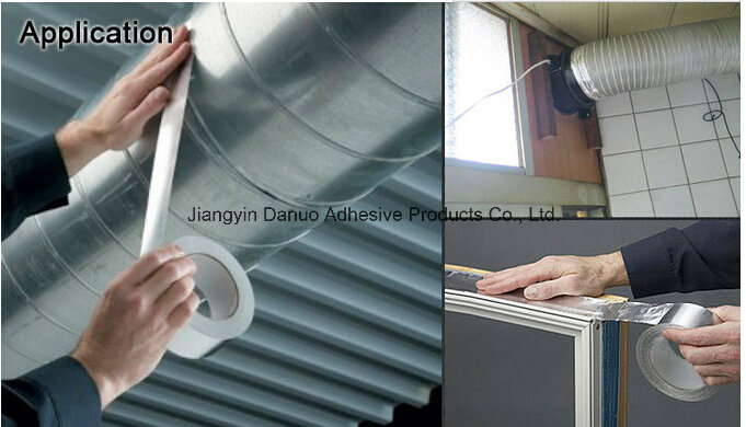 Silver Aluminium Foil Duct Tape