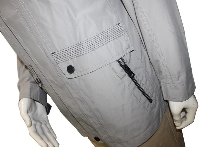 Men's Highneck Zip up Casual Jacket Outcoat