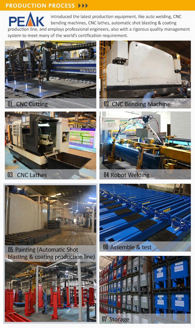 4500kg Capacity Asymmetric Arms 2 Post Garage Equipment (210SAC)