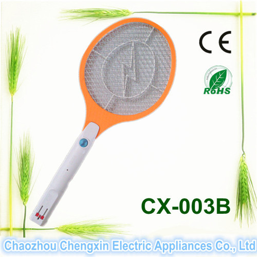 Top Sell ABS Good Quality Fly Swatter with LED Lamp