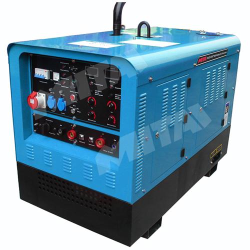 Dual Operation Diesel Engine Driven Welder Generator