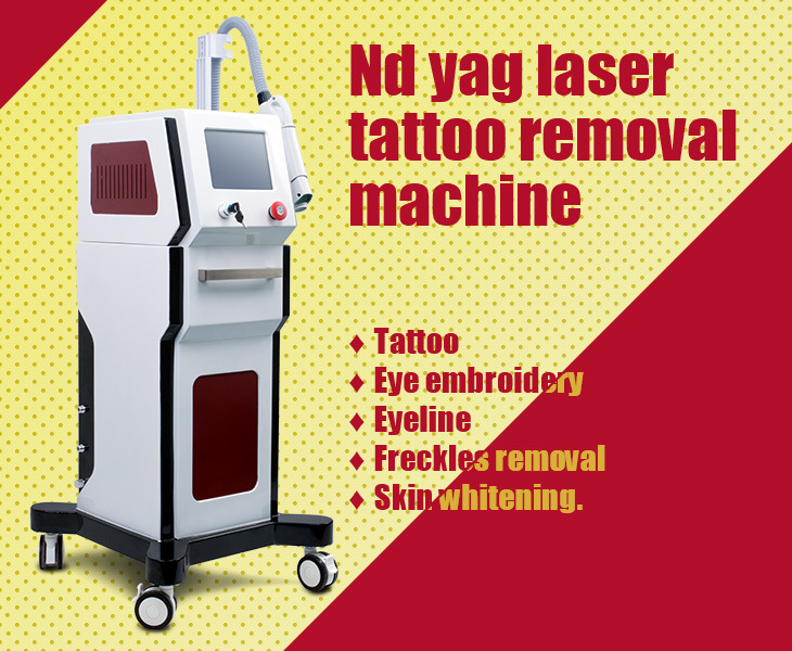 Multifunctional Laser/IPL Tattoo Removal/ Freckle/ Birthmark Machine Equipment Apparatus