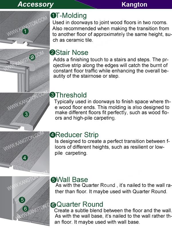 Handscraped Solid Hardwood Floor (Hardwood Flooring)