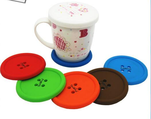 Restaurant Wholesale Plastic Embroidered Doily Cup Mat