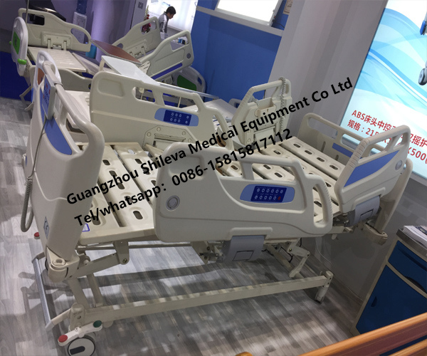 Imported Motor 8 Functions ICU Patient Electric Hospital Nursing Bed