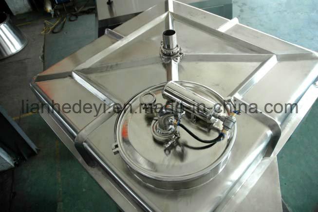 Fh-10000 High Volume Pharmaceutical Square-Cone Bin Blender Machine