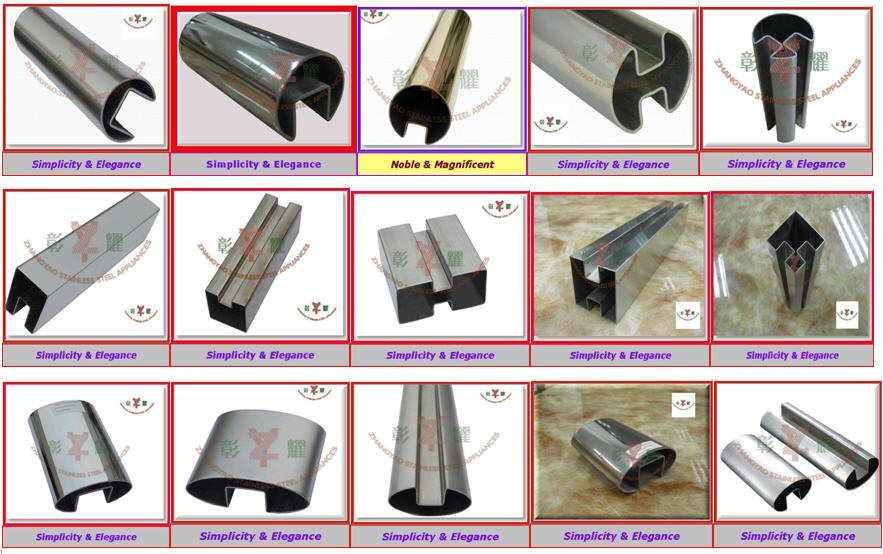 Hot Sale Top Quality Stainless Steel Oval Tube/ Elliptical Tubing
