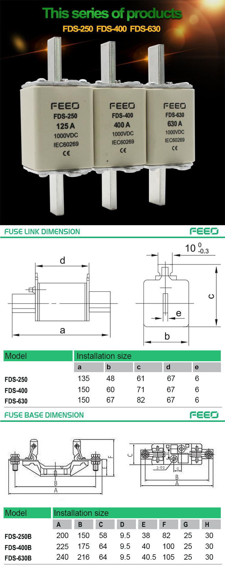 New and Original 400A Wenzhou Pole Mounted Fused Cut-out with High Quality