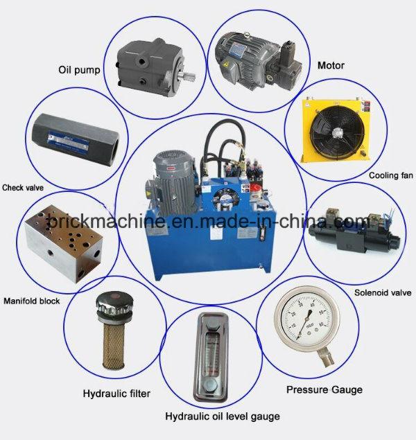 Hydraulic Pump and Cylinder for Brick Machine