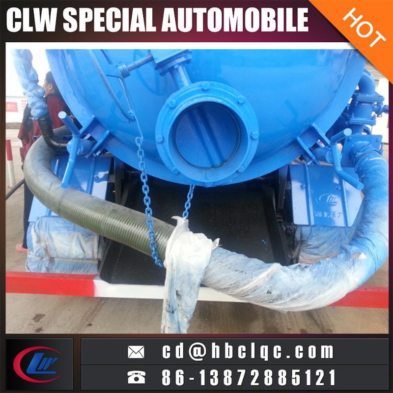 4cbm Waste Water Sewage Disposal Tank Truck