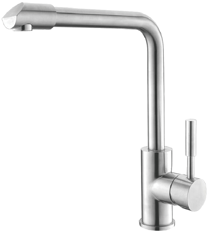 304 Stainless Steel Rotatable Kitchen Sink Mixer Basin Faucet