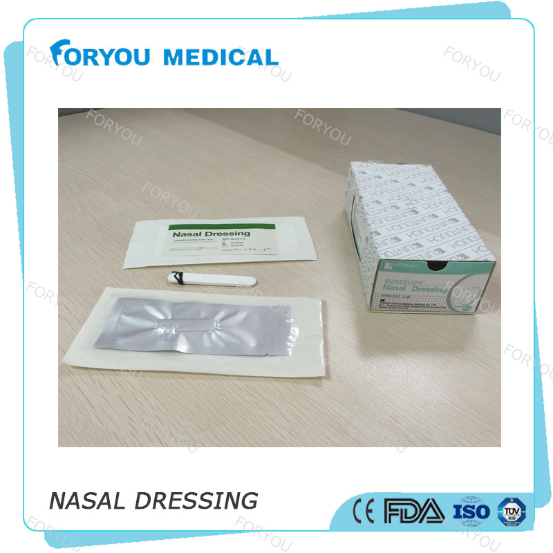 Foryou Medical Suntouch Hemostatic Nose Sponge Dressing Ent Merocele Epistaxis Disposable Nasal Dressing