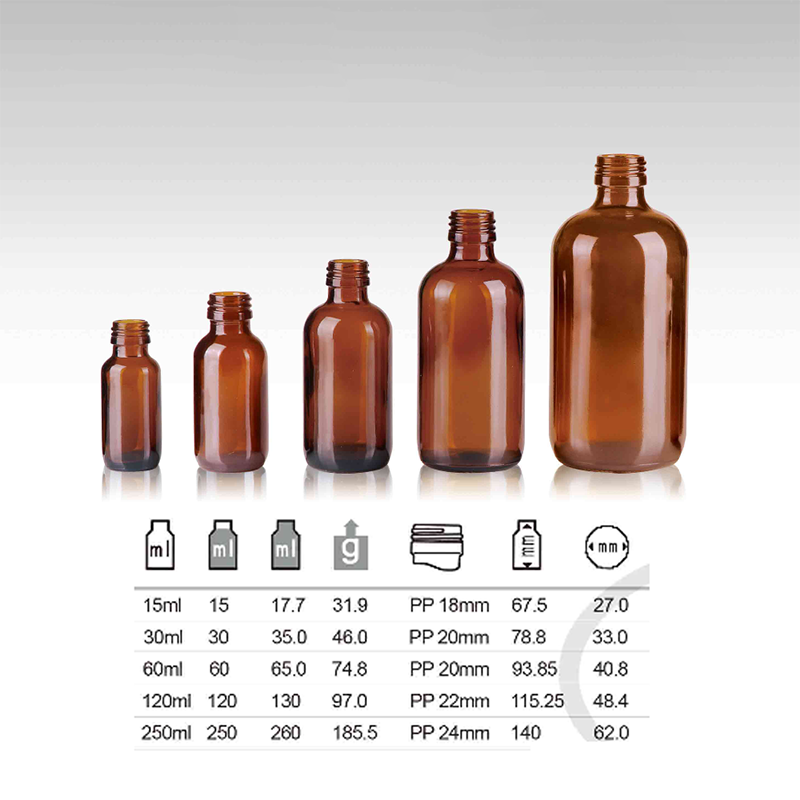 15ml 30ml Brown Color Glass Bottle (NBG08)