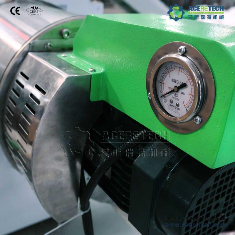 Full Automatic Plastic Fiber Recycling Granulator Machine