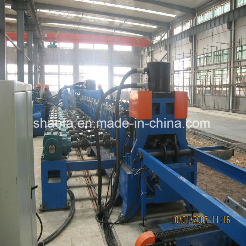 Highway Guardrail Two Wave Making Roll Forming Machine