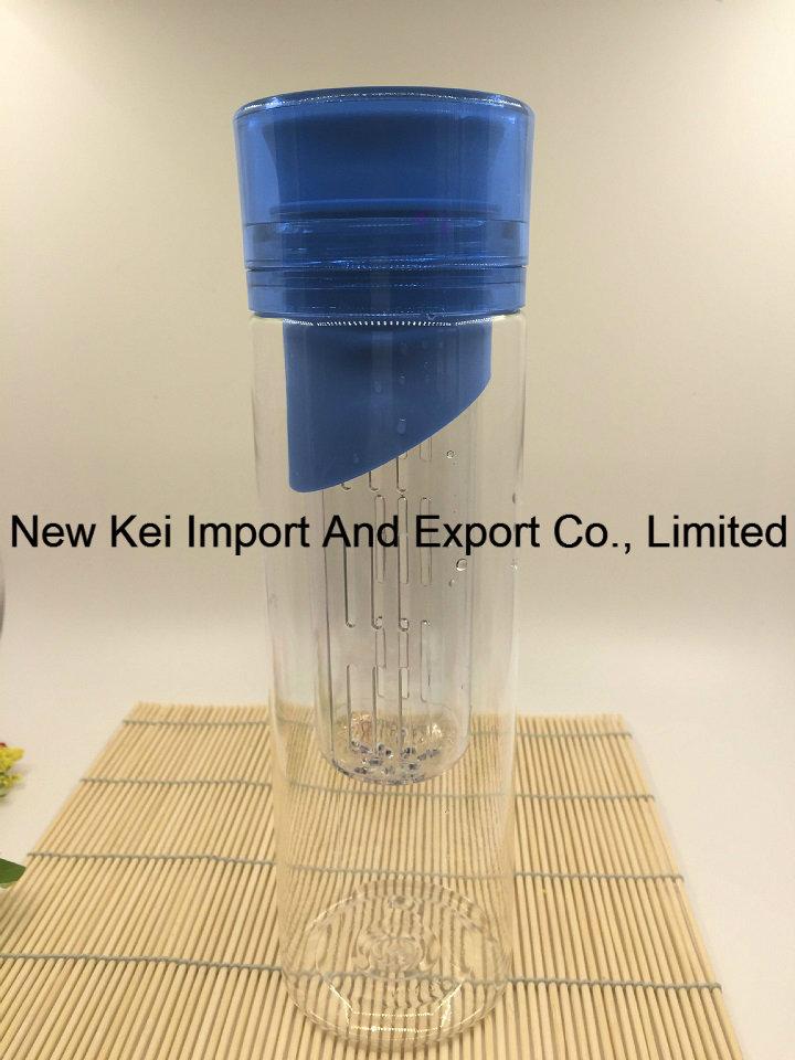 700ml Travel Bottle Sports Water Bottle with Fruit Infuser