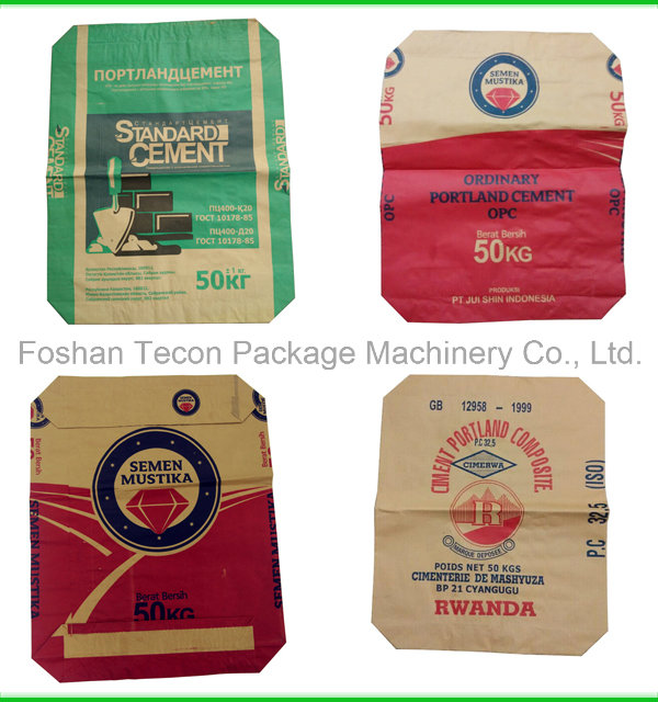 Fully Automatic Cement Paper Bags Packing Machinery
