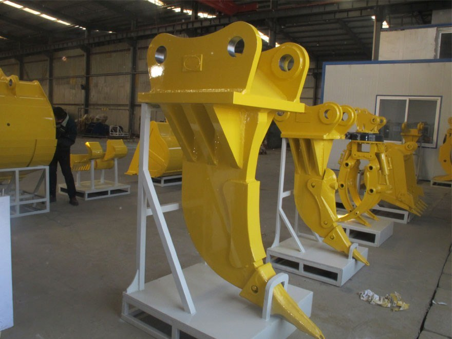 Construction Machinery Parts Mini Excavator Bucket Multi Function Ripper