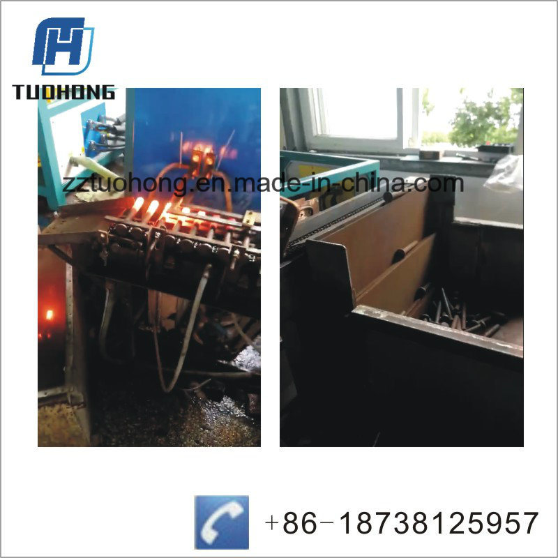 120kw Steel Bar Induction Forging Heating Machine