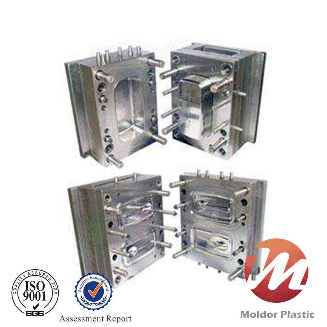 Plastic Injection Mold for Medical Products Container and Lid