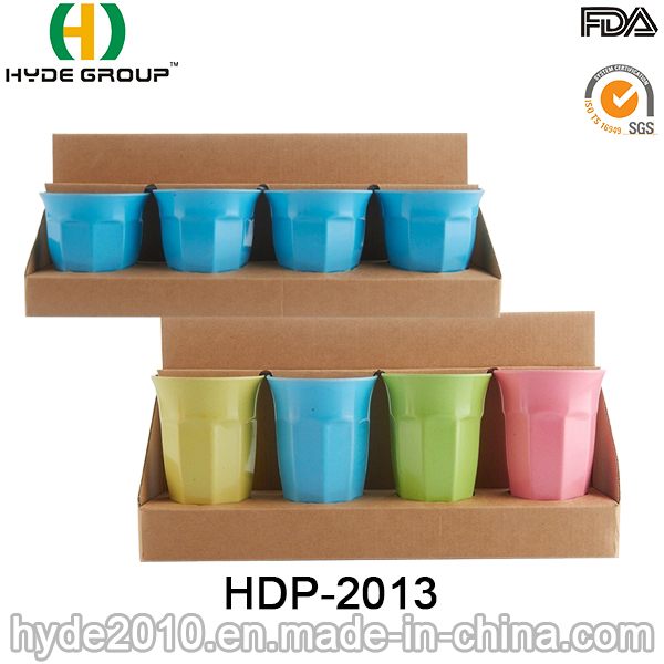 400ml Multi-Color Biodegradable Bamboo Fiber Cup (HDP-2013)