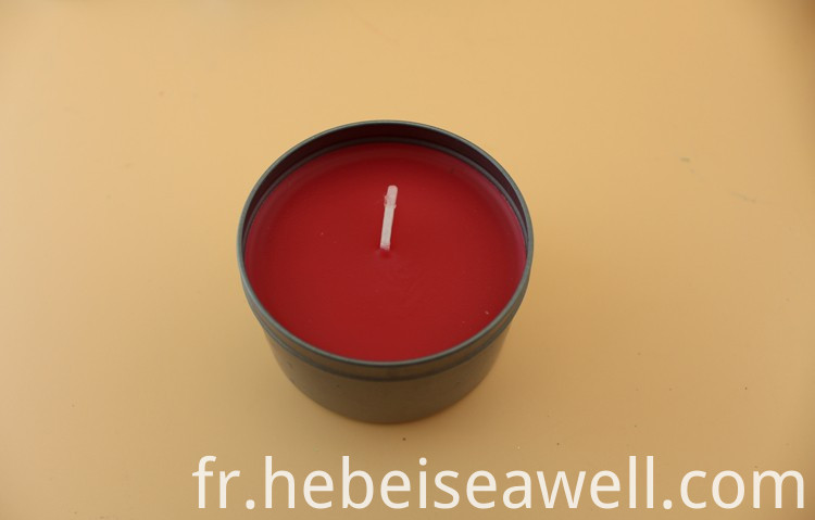 Wholesale Scented Tin Candles