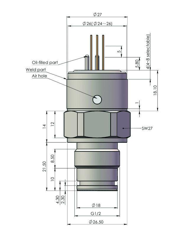 Low Price Hygienic Flush Diaphragm Pressure Sensor