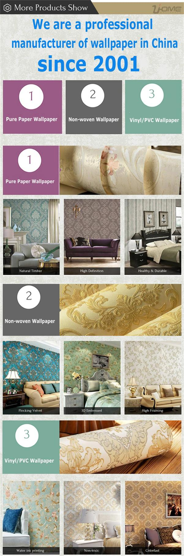 Beautiful Damask Designer Natural Wallpapers for Home Decor