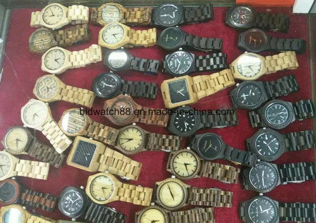 Wooden Watch for Men Women Zebrawood Analog Wood Watch