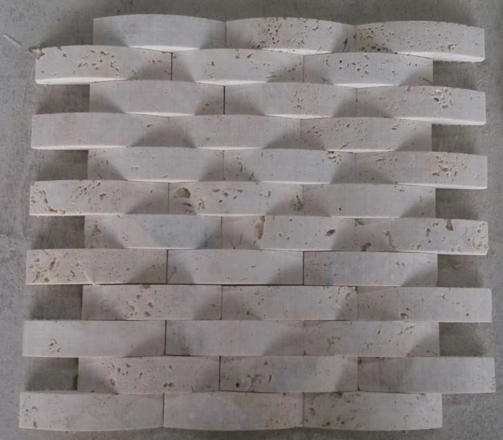 Arch Mosaic Tile Stone Marble Mosaic (HSM227)