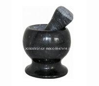 Mini Stone Mortars and Pestles Size 11X10cm