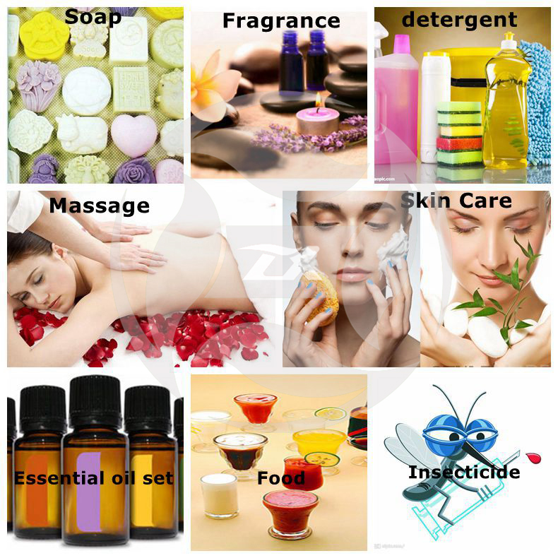 All kinds of essential oils