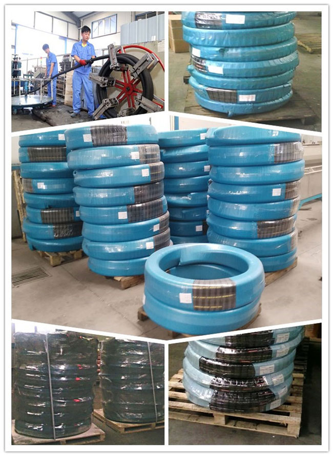 Hot Sale Rubber Hydraulic Hose SAE 100r17
