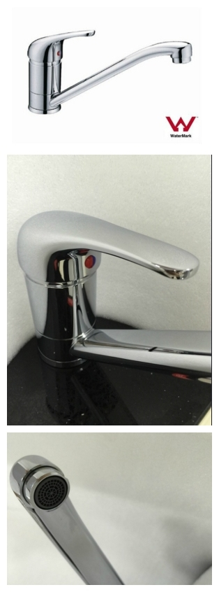 Sanitary Ware Modern Watermark Approval Chrome Plated Brass Body Kitchen Sink Mixer/Water Tap (HD6045)