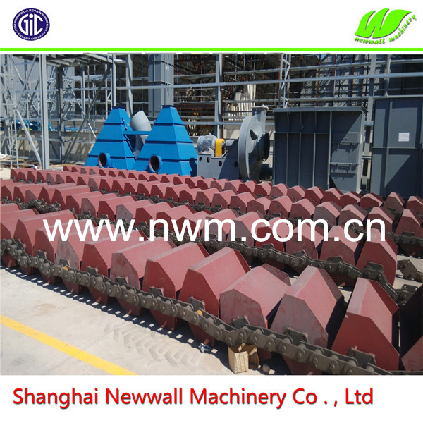 High Capacity Chain Board Bucket Elevator for Clinker